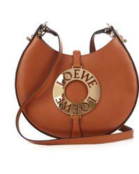 Loewe - Joyce Small Leather Cross-body Bag - Lyst