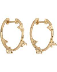 Elise Dray - Topaz & Yellow-gold Earrings - Lyst