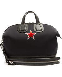 Givenchy - Nightingale Star-print Neoprene Holdall - Lyst