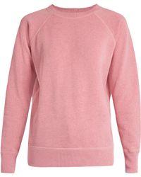 Étoile Isabel Marant Billy Raglan-sleeved Melange Sweatshirt