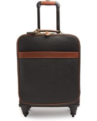 Mulberry - Clipper Peppled-leather Cabin Suitcase - Lyst