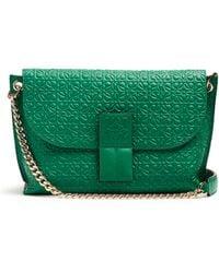 Loewe - Avenue Leather Cross-Body Bag - Lyst