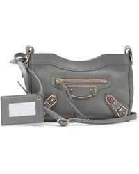 Balenciaga - Classic Hip Leather Cross-body Bag - Lyst