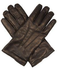 Giorgio Armani - Leather Gloves - Lyst