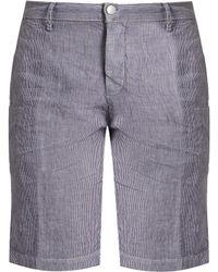 Massimo Alba | Velta Striped Linen Shorts | Lyst