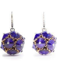 Bottega Veneta - Crystal Ball Earrings - Lyst