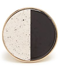 Etro - Ceramic-disc Signet Ring - Lyst