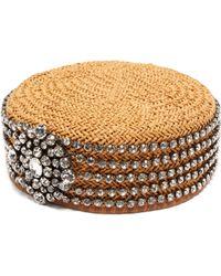 fd243b2000c Gucci - Papier Crystal Gahfiya Hat - Lyst
