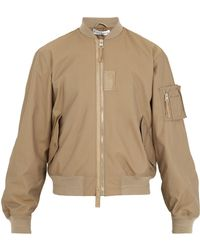 J.W. Anderson | Ribbed-trimmed Bomber Jacket | Lyst