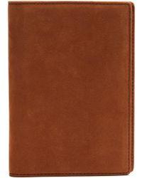 Want Les Essentiels De La Vie - Pearson Nubuck Passport Holder - Lyst
