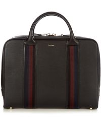 Paul Smith - City Webbing Leather Briefcase - Lyst