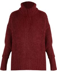 By. Bonnie Young - Roll Neck Cashmere Blend Sweater - Lyst