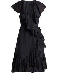 Loup Charmant - Callela Ruffle Trimmed Organic Cotton Dress - Lyst