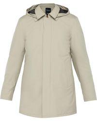 Herno - Laminar Hooded Overcoat - Lyst