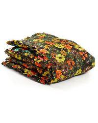 Preen By Thornton Bregazzi - Floral Silk-satin Quilted Duvet - Lyst