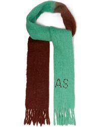 Acne Studios - Écharpe bicolore à franges bicolores Kelow Dye - Lyst 5c6b2996d9c