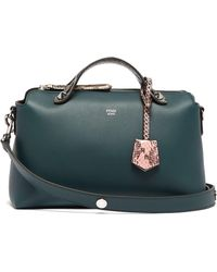 Fendi - By The Way Leather And Ayers Cross Body Bag - Lyst