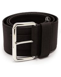Miu Miu - Wide Canvas Belt - Lyst