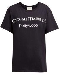 Gucci - Chateau Marmont Print T-shirt - Lyst