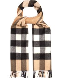 Burberry - Cashmere Scarf - Lyst