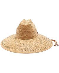 Gucci - Wide Brimmed Straw Hat - Lyst