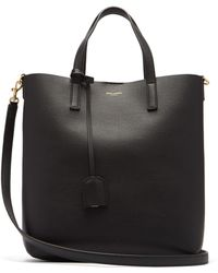 Saint Laurent - Shopping Toy Leather Tote - Lyst
