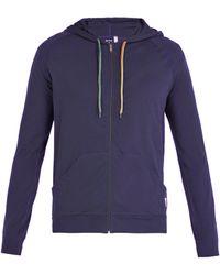 Paul Smith - Zip-through Hooded Sweatshirt - Lyst