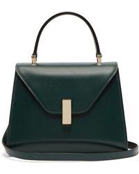 Valextra - Iside Mini Leather Bag - Lyst