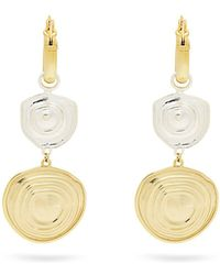 Ellery - Aegean Brass Drop Earrings - Lyst