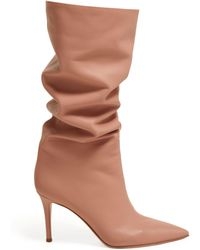 Gianvito Rossi - Suzan 85 Knee High Leather Boots - Lyst