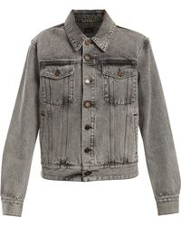 Saint Laurent | Oversized Denim Jacket | Lyst