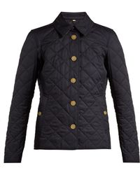 Burberry - Frankby Diamond Quilted Shell Jacket - Lyst