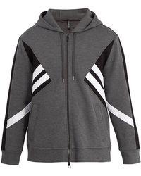 Neil Barrett - Modernist Zip-through Hooded Sweatshirt - Lyst
