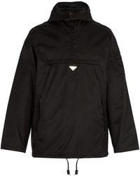 Prada - Lightweight Pullover Nylon Jacket - Lyst