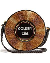 Sarah's Bag - Golden Girl Embellished Crossbody Bag - Lyst