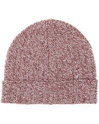 A.P.C. - Jacquot Wool Beanie Hat - Lyst