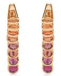 Marie Mas - - Reversible Multi Stone & Pink Gold Earrings - Womens - Pink - Lyst