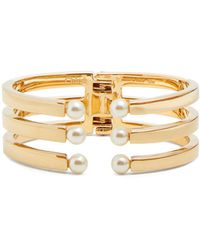 Chloé - Darcy Gold-tone Brass Embellished Cuff - Lyst
