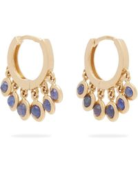 Jacquie Aiche - Shaker 14kt Gold Mini Hoop Earrings - Lyst