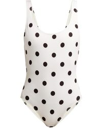 Solid & Striped - The Anne Marie Polka Dot Swimsuit - Lyst