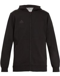 adidas Originals - Hooded Jersey Sweatshirt - Lyst
