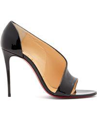 b8b7f0621ba Christian Louboutin - Phoebe 100 Patent Leather Court Shoes - Lyst