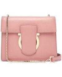 Ferragamo - Thalia Leather Cross-body Bag - Lyst