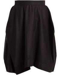 Vivienne Westwood Anglomania - Kite Wool-blend Skirt - Lyst