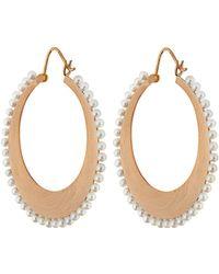 Irene Neuwirth | Akoya Pearl & Rose-gold Earrings | Lyst