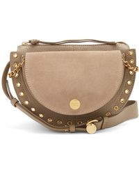 See By Chloé - Kriss Suede Cross-body Bag - Lyst