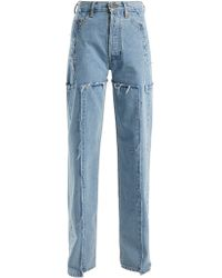 Vetements - High Rise Straight Leg Jeans - Lyst