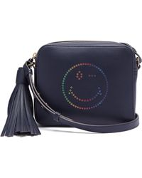 Anya Hindmarch - Rainbow Wink Leather Cross-body Bag - Lyst