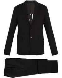 Valentino - Single-breasted Wool-blend Suit - Lyst