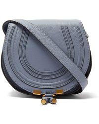 e377532f4f Chloé Marcie Pouchette Crossbody Bag in Purple - Lyst